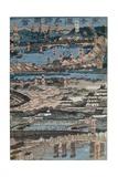 View of Edo, 1864 Giclee Print by Utagawa Yoshitora