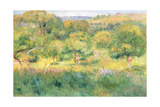 The Edge of a Forest in Brittany, 1893 Giclee Print by Pierre-Auguste Renoir