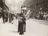 The Match Seller, Ludgate Hill, 1893 Photographic Print by Paul Martin