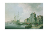 View Near Deptford Giclee Print by William Anderson