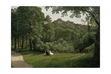 View of Blaise Castle Woods Giclee Print by Francis Danby