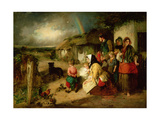 The First Break in the Family Giclee Print by Thomas Faed