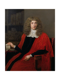 Portrait of 'Judge Jeffreys', George Jeffreys, 1st Baron (1648-89) Giclee Print by John Michael Wright
