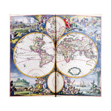 T.945 Map of the World from the Atlas by Frederick De Wit, C.1688 Giclee Print by Frederick de Wit