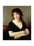 Portrait of Madame Bruyere, 1796 Giclee Print by Baron Antoine Jean Gros
