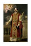 St. Roderick of Cordoba Giclee Print by Bartolome Esteban Murillo