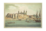 Tower of London, 1795 Giclee Print by Joseph Farington