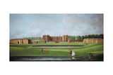 View of Temple Newsam House, C.1750 Giclee Print by James Chapman