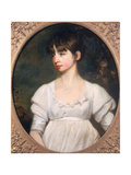Portrait of a Young Woman in a White Dress, C.1805 Giclee Print by John Opie