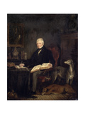 Portrait of Sir Walter Scott Giclee Print by Sir Francis Grant