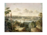 Sydney from St. Leonards on the North Bank of Port Jackson, 1845 Giclee Print by George Edward Peacock