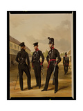 Men of the 60th Rifles (King's Royal Rifle Corps), C.1830 Giclee Print by Henry Martens