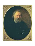 Portrait of Aleksandr Ivanovich Herzen (1812-70), 1867 Giclee Print by Nikolai Nikolajevitch Gay