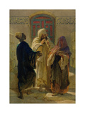 The Street Musicians of Cairo Giclee Print by Carl Haag