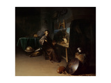 Artist in His Studio Giclee Print by Gerrit or Gerard Dou