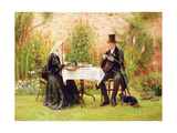 The Widow at Home Giclee Print by Walter Dendy Sadler