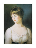 Portrait of a Young Girl, C.1780 Giclee Print by John Russell