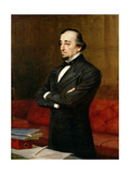 Portrait of Benjamin Disraeli, 1st Earl of Beaconsfield (1804-81), 1878 Giclee Print by Henry Jr. Weigall
