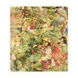 In the Orchard Giclee Print by Edward Atkinson Hornel
