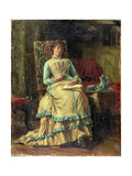 Woman in an Interior, C.1880 Giclee Print by Alfred Emile Léopold Stevens
