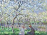 Claude Monet - Springtime, 1886 Digitálně vytištěná reprodukce