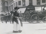 A Cheapside Flower Girl, 1893 Photographic Print by Paul Martin