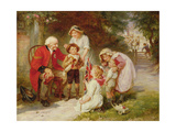 The Old Soldier Giclee Print by Frederick Morgan
