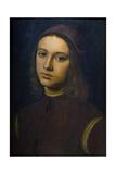 Portrait of a Young Man, 1495 Giclée-Druck von Pietro Perugino