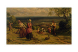 The Haymakers, 1862 Giclee Print by James Thomas Linnell