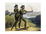 Hunting in the Bay of San Francisco, from 'Voyage Pittoresque Autour Du Monde', Engraved by Jean… Giclee Print by Ludwig Choris