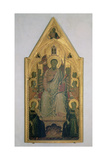 St. Bartholomew Enthroned with Angels Giclee Print by Jacopo Del Casentino