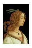 Portrait of a Young Woman, 1485 Giclee Print by Sandro Botticelli