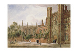 St. John's College, Cambridge, 1843 Giclee Print by Joseph Murray Ince