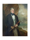Portrait of Admiral Meynell Giclee Print by Sir Francis Grant