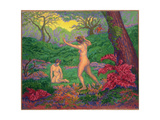 The Faun and Spring, 1895 Giclée-Druck von Paul Ranson