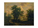 View in Suffolk Giclée-Druck von George Vincent