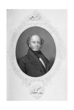 Martin Van Buren, from 'The History of the United States' Vol. II, by Charles Mackay, Engraved by… Giclee Print by Henry Inman
