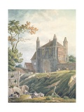 St. John's Abbey Gate, Colchester, 18th Century Giclee Print by Michael Rooker