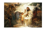 Christ and the Little Child, 1897-98 Giclee Print by George William Joy
