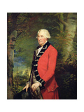 Sir Ralph Milbanke, 6th Baronet, in the Uniform of the Yorkshire (North Riding) Militia, 1784 Giclee Print by James Northcote