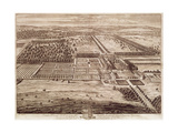 Prospect of Temple Newsam House from the East, Engraved by Jan Kip (C.1652-1722) 1702 Giclee Print by Leonard Knyff