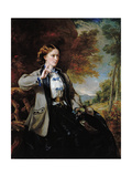 Portrait of the Hon. Mrs Meynell-Ingram Giclee Print by Sir Francis Grant
