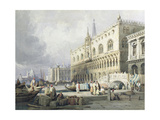 Palazzo Ducale, Venice Giclee Print by Samuel Prout