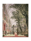 Waiting for the Queen at Coalbrookdale Gates, from 'Dickinson's Comprehensive Pictures of the… Giclee Print by Joseph Nash