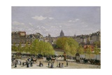 Quai Du Louvre, Paris, 1866-67 Giclee Print by Claude Monet