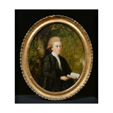 Portrait of Nicholas Isaac Hill (1760-1854) Giclee Print by Thomas Hickey