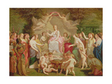 Allegory of Spring, 1871 Giclee Print by Henri Pierre Picou
