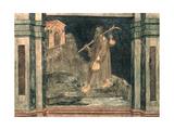 The Pilgrim, after Giotto, C.1450 Giclee Print by Nicolo & Stefano Da Ferrara Miretto