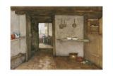 Kitchen Interior, C.1899 Giclee Print by Johannes Hendrik Weissenbruch