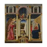 Annunciation, 1464 Giclée-tryk af Neri Di Bicci